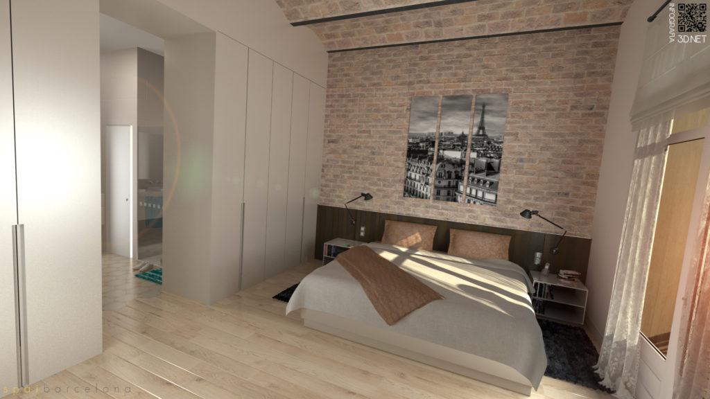 Interiorismo | 3D para Spaibarcelona.