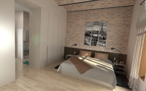 Proyecto de interiorismo by Infografia3D for Spaibarcelona.