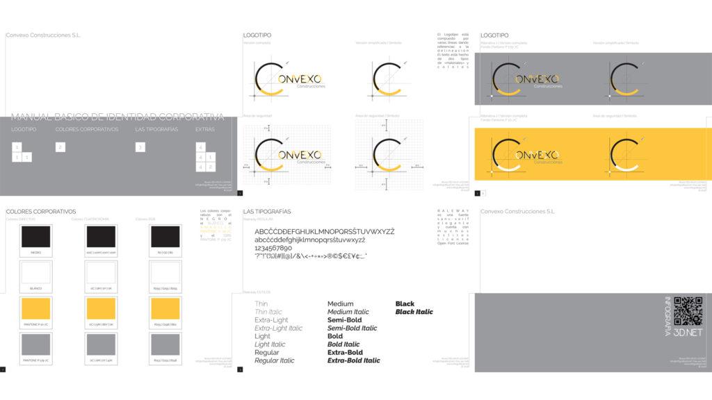 Web Design | Creación de la Web y de la Identidad Corporativa de Convexo Construcciones.