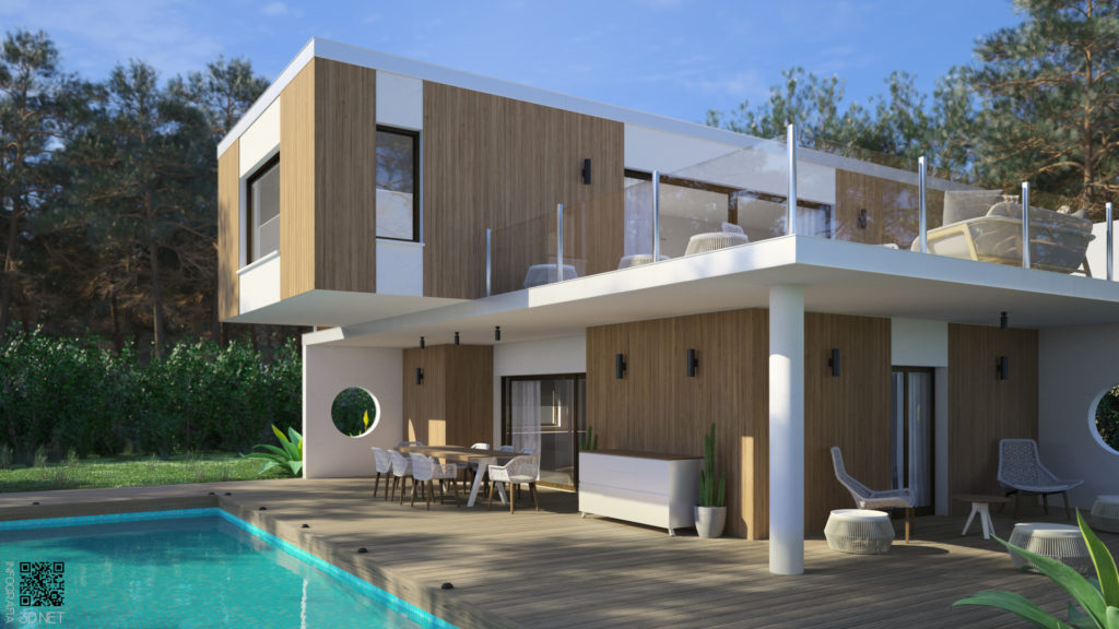 Arquitectura | 3D. Proyecto en colaboración con ABC Architectes.